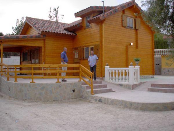 Exterior Abeto Nórdico. CASAS DE MADERA