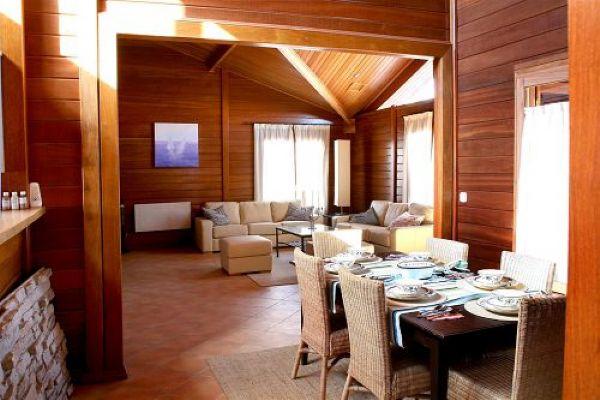 Interior Madera Noble. CASAS DE MADERA